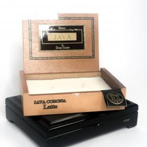 Cigar Box Candles