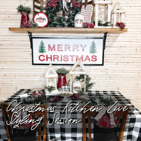 Christmas Kitchen Live Styling Session