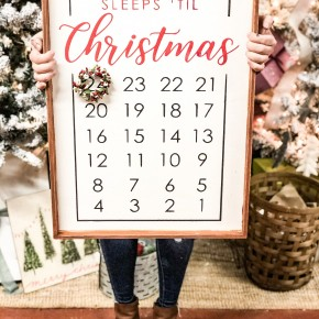 Christmas Advent Calendar Craft Box