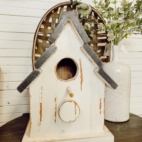 Wood Shingle Bird House