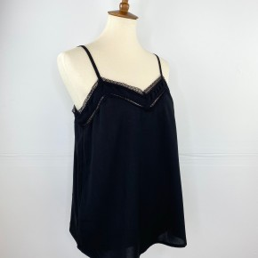 Lacey Date Night Top in Black