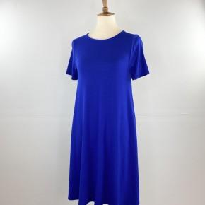 Favorite T-Shirt Dress in Admiral Blue
