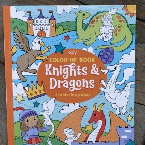 The Knights & Dragons Color-in' Book