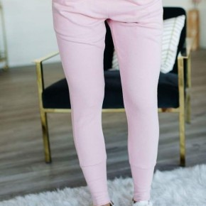 Petal Pink Joggers