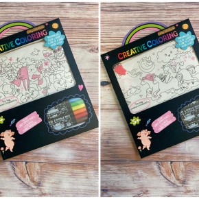 Pink Creative Coloring Pouch