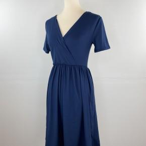 Favorite V-Neck Empire Waist Dress in Navy