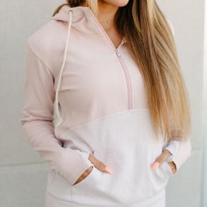 Just A Kiss Half Zip Sweatshirt