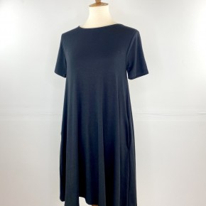 Favorite T-Shirt Dress in Black