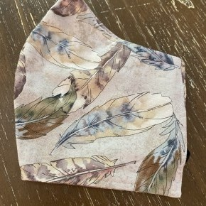 Free Spirit Feathers Face Masks