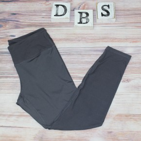 High Waisted Yoga Leggings in Charcoal