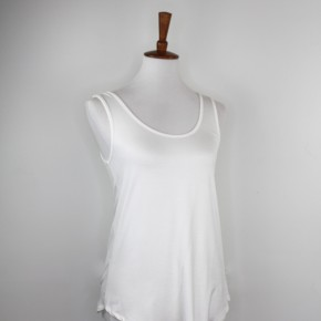 Fitted Layering Tank in Ivory