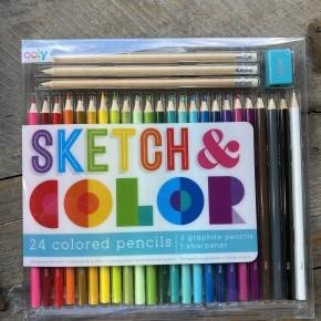 Sketch & Color Pencil Set