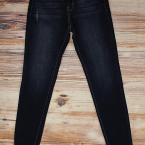 Skinny Distressed Ankle Jeans