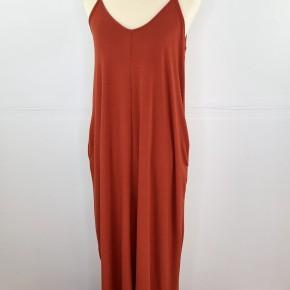 Favorite Spaghetti Strap Maxi Dress in Copper