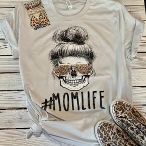 #MOMLIFE Skull Tee