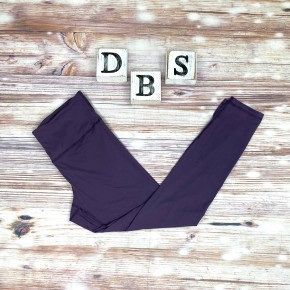 High Waisted Yoga Leggings in Vintage Violet