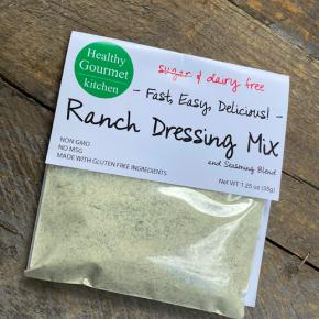 KETO-FRIENDLY: Ranch Dip + Dressing Mix