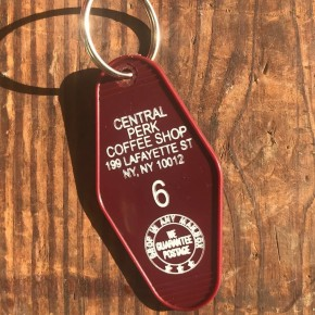 Central Perk // Vintage-Style Keychain