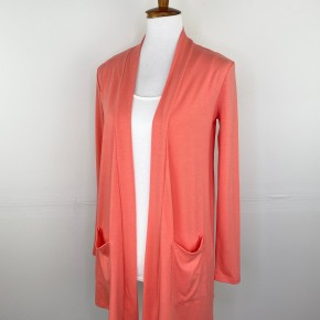 The Perfect Year Round Cardigan in Coastal Coral