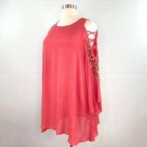 Suninn' in Strawberry Sheer Dress
