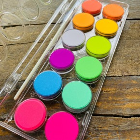 Chroma Blends Neon Watercolor Paint