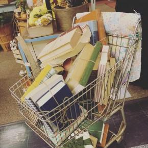 Vintage Book Stacks