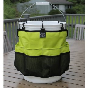 Womanswork Garden Bucket Caddy - Green