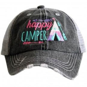 Happy Camper Kids Hat