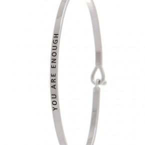 """You are Enough"" bracelet"