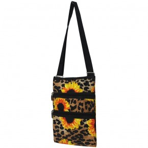 Leopard Sunflower Crossbody bag