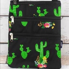 Cactus Garden Crossbody Bag