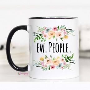'Ew, People' mug