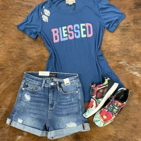 Blessed in Spring Tee