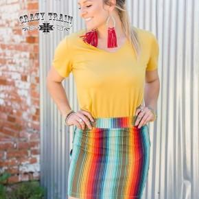 Crazy Train Cattle Kate Skirt