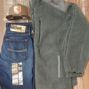 Ariat Men's El Capitan Fleece Full Zip Sweater