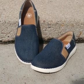 Ariat Women's Ryder Denim Blue Shoe