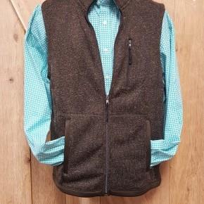 Powder River  Men's Heather Brown Vest