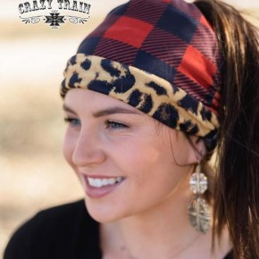 Crazy Train Bandito Reversible Bun Beanie