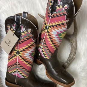 Ariat Ladies Iron Grey/Aztec Boots