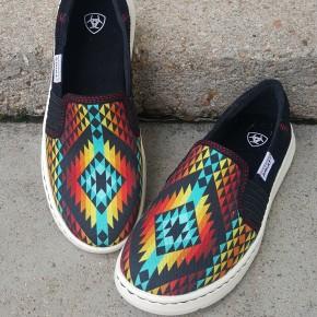 Women's Ariat Rainbow Aztec Ryder Shoe