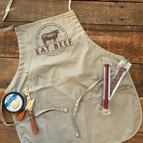 Cheeky's Eat Beef Apron