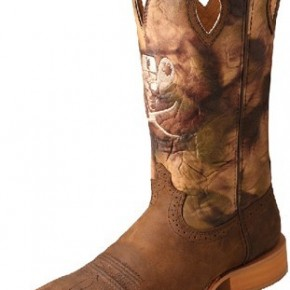Men's Twisted X Ruff Stock Western Boots - Crazy Horse/Camo