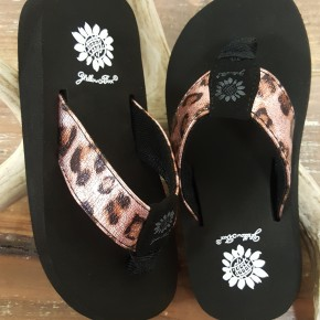Yellowbox GIRLS Leopard Sandal