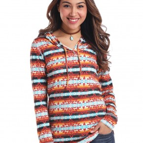 Panhandle Southwest Hooded Top