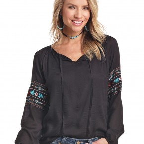 Panhandle Embroidered Top