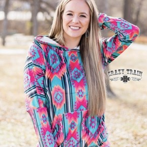 Crazy Train Flashy Freeze Hoodie