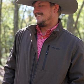 Wrangler Men's Coffee Trail Jacket