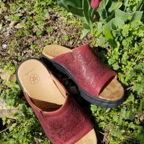 Ariat Women's Red Bridgeport Sandal