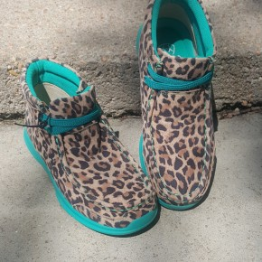Ariat GIRLS  Little Leopard Spitfire