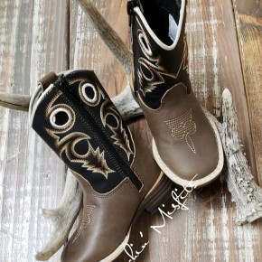 Trace Toddler Western Boot